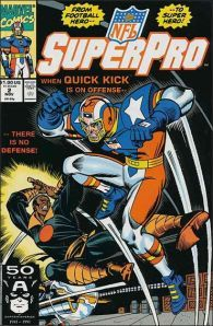 Hey there ComicAttackers! Welcome to the second edition of Wacky Comic Wednesday! Considering the NFL season is now in full...