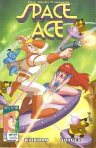 Space Ace #1 by Arcana Comics