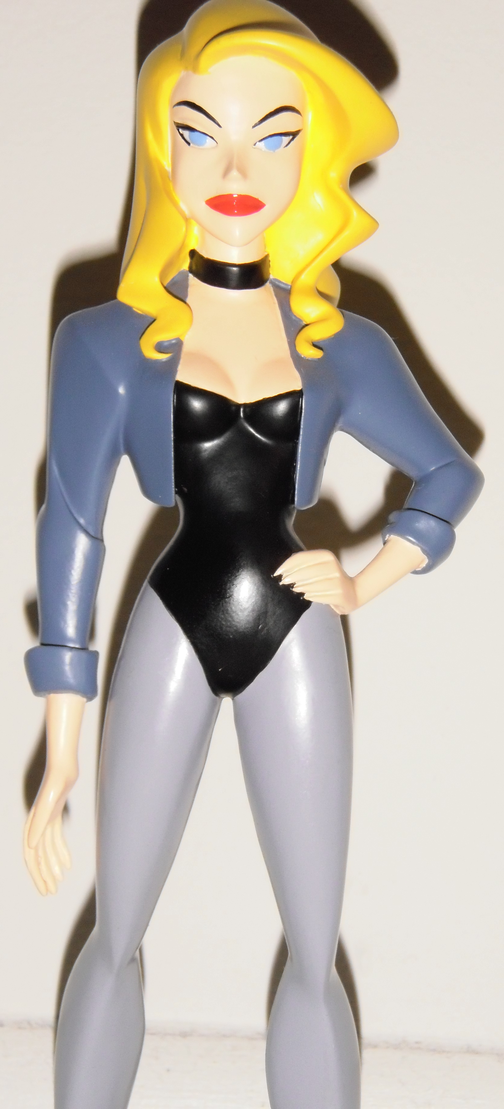 Sculpted by John G. Mathews. DC Direct presents the second maquette based on Cartoon Network's hit animated series Justice League Unlimited! The Black Canary, a stunning siren, possesses a sonic...