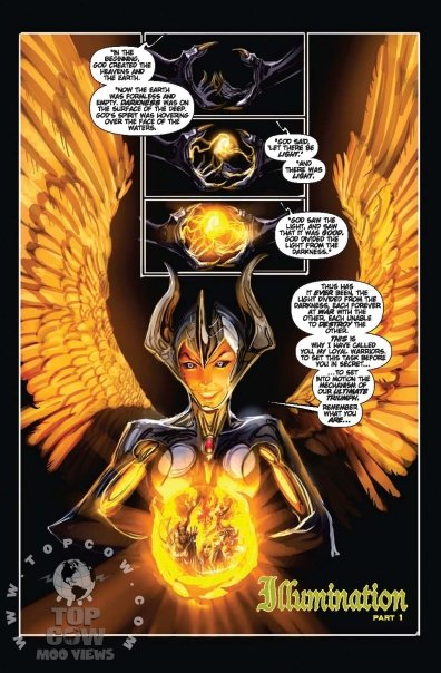 Out of the War of the Witchblades we not only got one bearer but a new Angelus host was chosen as well. Now the fantastic team of Marz and Sejic bring...