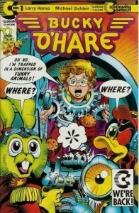 Welcome back to another edition of Wacky Comic Wednesday! Bucky O'Hare is an awesome, green, space pilot rabbit created by...