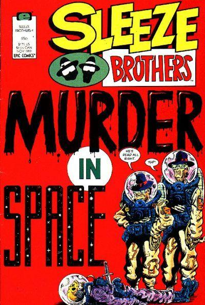 Welcome back to another edition of Wacky Comic Wednesday! This week we take a peek at The Sleeze Brothers #4...