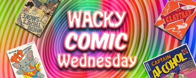 Welcome back to another edition of Wacky Comic Wednesday! Today we continue our rodent marathon and take a look at Adolescent...