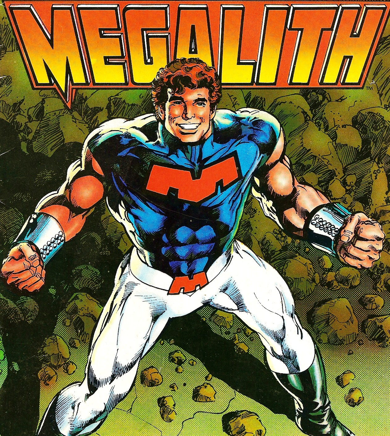 Megalith is the second best character that Neal Adams has ever created, falling slightly behind Skate-Man for the top slot....