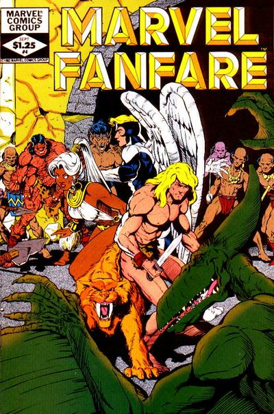 Angel finally agrees to help and he and Ka-Zar make a catapult and star