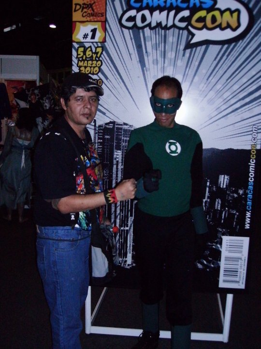 The least intimidating Green Lantern ever.