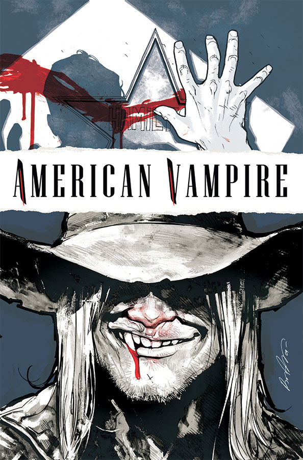 American Vampire #2 Publisher: Vertigo Comics Writers: Scott Snyder & Stephen King Art/Cover: Rafael Albuquerque Variant Cover: Bernie Wrightson Pages: 40...