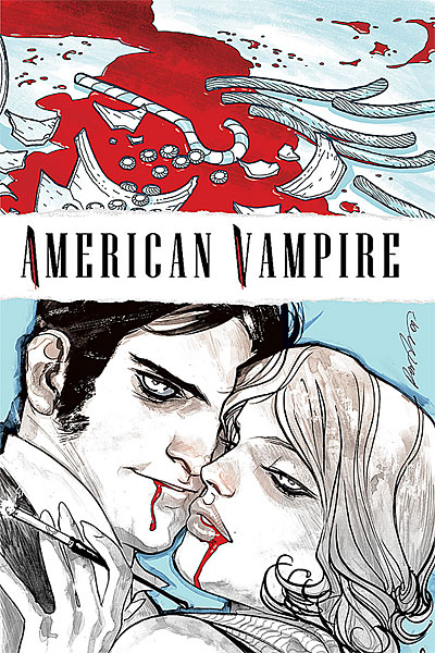 American Vampire #3 Publisher: Vertigo Comics Writers: Scott Snyder & Stephen King Art/Cover: Rafael Albuquerque Variant Cover: Andy Kubert Pages: 40...