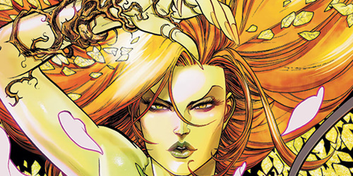 poison ivy comic pictures. Poison Ivy: Though it