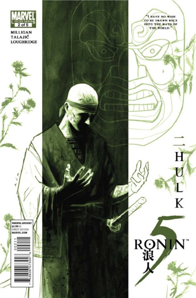 5 Ronin #2 (Marvel) Infinite Speech: I already saw the movie 7 Samuraiso this issue really didn't hold my interest....