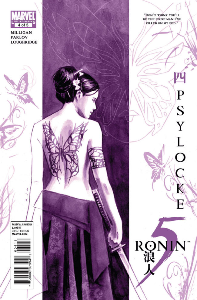 5 Ronin #4 (Marvel) Infinite Speech: I think I should have waited for the trade and just read them all...