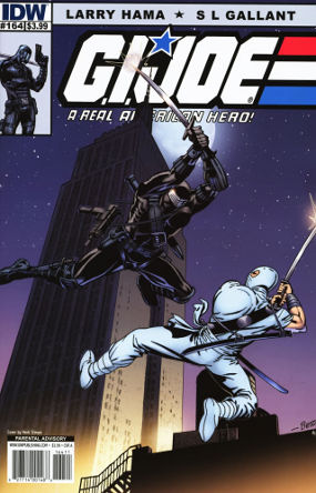 "G.I. Joe: A Real American Hero #164 Publisher: IDW Writer: Larry Hama Artist: S.L. Galant Cover: Herb Trimpe The ""Dark..."