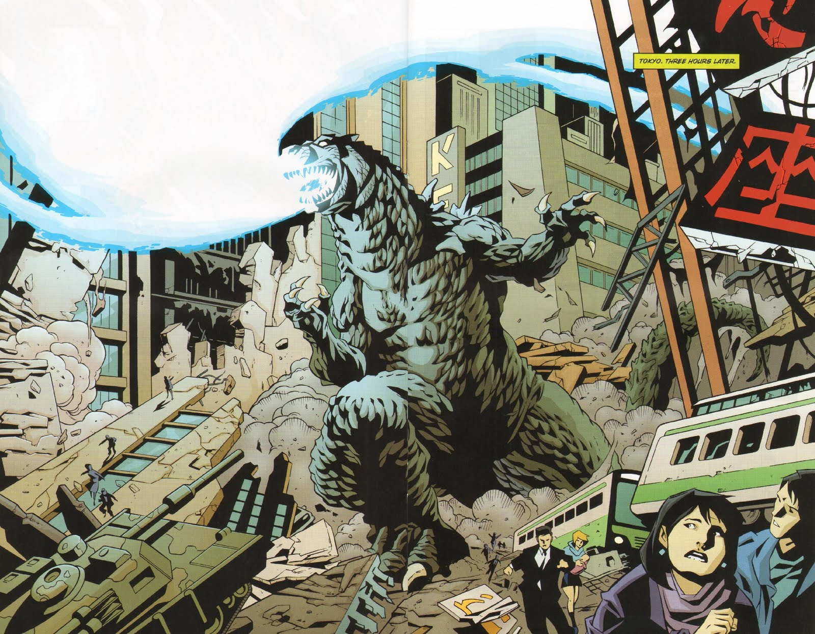 Godzilla: Kingdom of Monsters #1 Publisher: IDW Writer(s): Eric Powell & Tracy Marsh Artist: Phil Hester (cover by Eric Powell)...