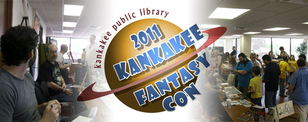 On Saturday, June 4, the Kankakee Public Library teamed up with Amazing Fantasy Comic Shops to bring the Kankakee Fantasy...
