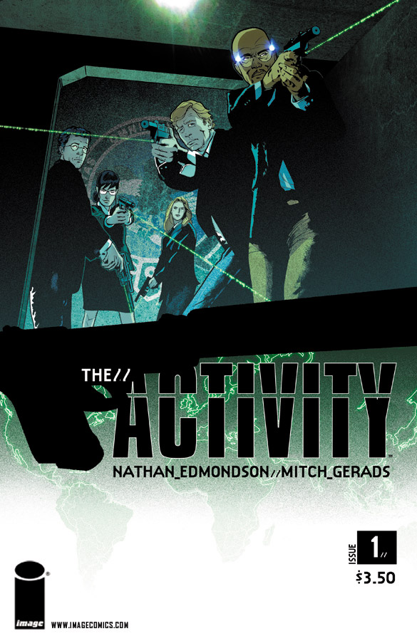 The Activity issue 01 cover