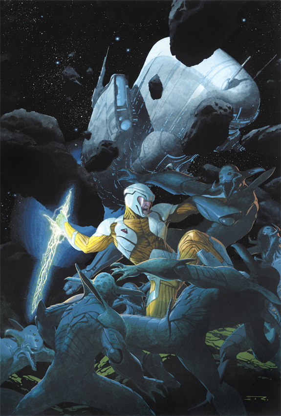 X-O Manowar #1 Publisher: Valiant Writer: Robert Venditti Aritst: Cary Nord & Stefano Gaudiano Cover: Esad Ribic The return of...