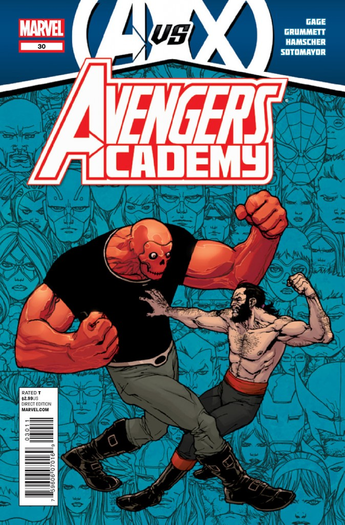 Avengers vs. X-Men #4 Writer: Jonathan Hickman Artist: John Romita, Jr. It is now apparent that the editors are the ones screwing this event up. There appears to be...