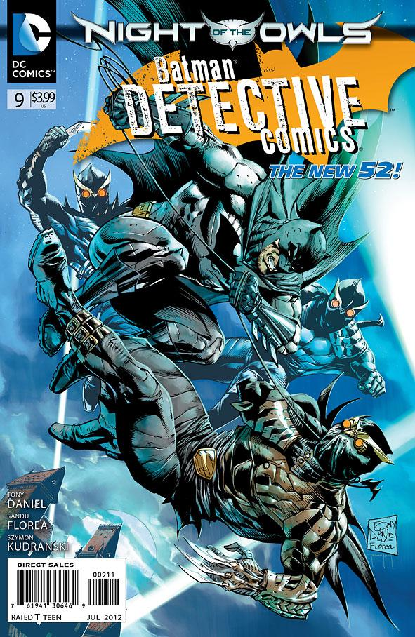 Batman: Detective Comics #9 Writer: Tony Salvador Daniel Artists: Tony Salvador Daniel, Sandu Florea, Tomeu Morey, Szymon Kudranski, and John...