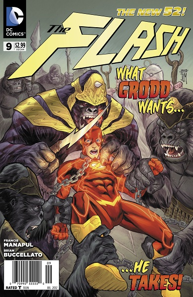 The Flash #9 Publisher: DC Comics Writers: Francis Manapul, Brian Buccellato Artist: Francis Manapul Cover: Francis Manapul For someone who primarily was known as an artist a couple years ago,...