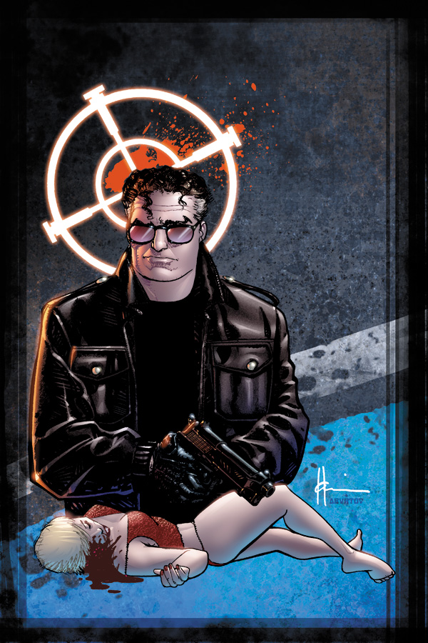 "Dark Horse Comics has hooked us up with an exclusive first look at Howard Chaykin's ""Marked Man"" HC, collecting the..."