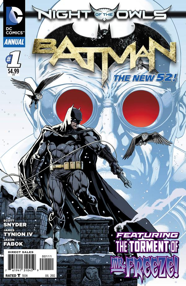 Batman Annual #1 Writers: Scott Snyder and James Tynion IV Artists: Jay Fabok and Peter Steigerwald Cover Artists: Jay Fabok and Peter Steigerwald Publisher: DC Being a fifth week last...