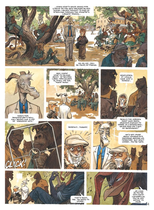 Blacksad: A Silent Hell Publisher: Dark Horse Writer:  Juan Diaz Canales Artist: Juanjo Guarnido Release Date: July 11, 2012 Did...