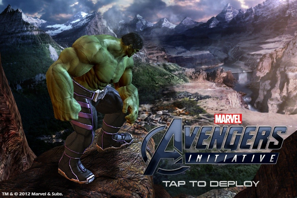 Don't let the name deceive you. Avengers Initiative really only has one Avenger. The Hulk. But that's okay, because for a touch game, it's not bad. Avengers Initiative Developer: Wideload...
