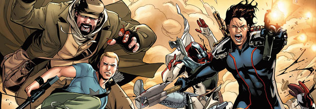 "Valiant Entertainment has released cover art to ""Archer & Armstrong"" #5 which kicks off the ""Wrath of the Eternal Warrior"" story arc in December 2012. I'm absolutely loving the new..."