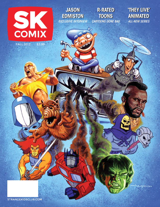 Launched August 17 and wrapping up on September 16, 2012 (just three more days to go!), SK Comix Magazine aims to parody and pay tribute to the cartoons, comics, and...