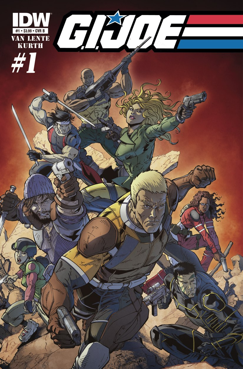 It looks like not only do we get a new G.I. Joe film in 2013, but IDW plans on giving...