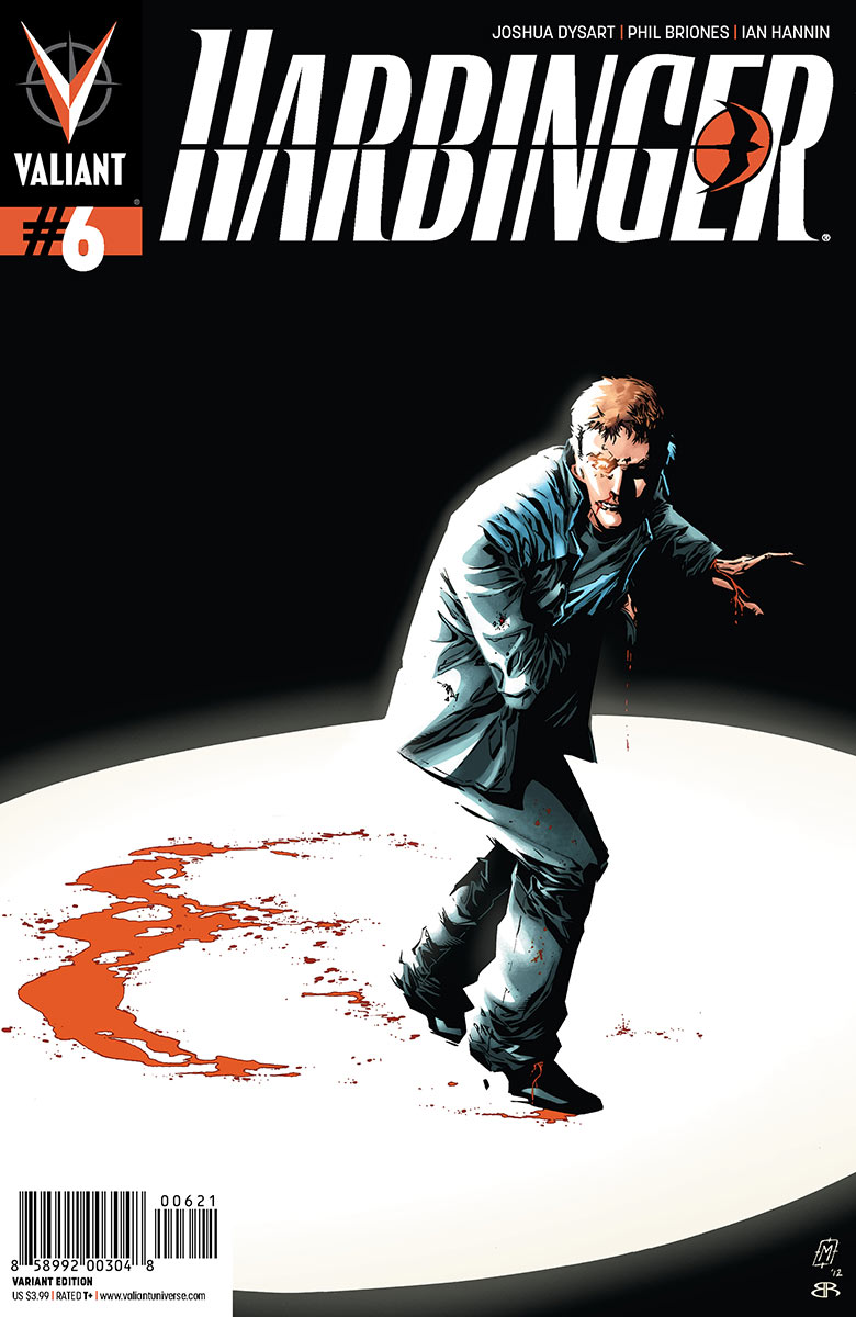 The Rise of the RENEGADES Begins in HARBINGER #6 Valiant is proud to present an advance preview of Harbinger #6...