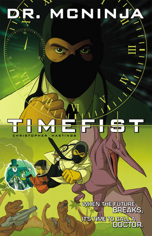 Dr. McNinja: Time Fist Writer: Christopher Hastings Artist: Christopher Hastings (Army of One Inker: Kent Archer) Colors: Anthony Clark Cover: Carly Monardo Stolen Pizza, Stolen Lives Writer: Malachai Nicolle Artists:...