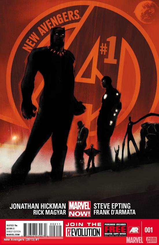 New Avenges #1 Publisher: Marvel Writer: Jonathan Hickman Artist: Steve Epting Cover: Jock Not too long ago several of Marvel's smartest and most influential heroes decided to come together in...