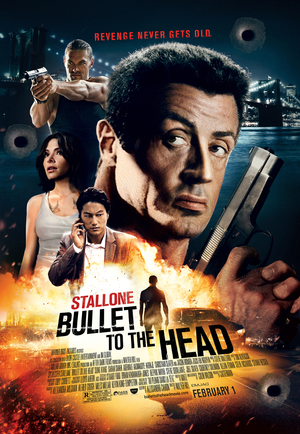 Title: Bullet to the Head Director: Walter Hill Writers: Walter Hill & Alessandro Camon (Based on the story by Alexis...