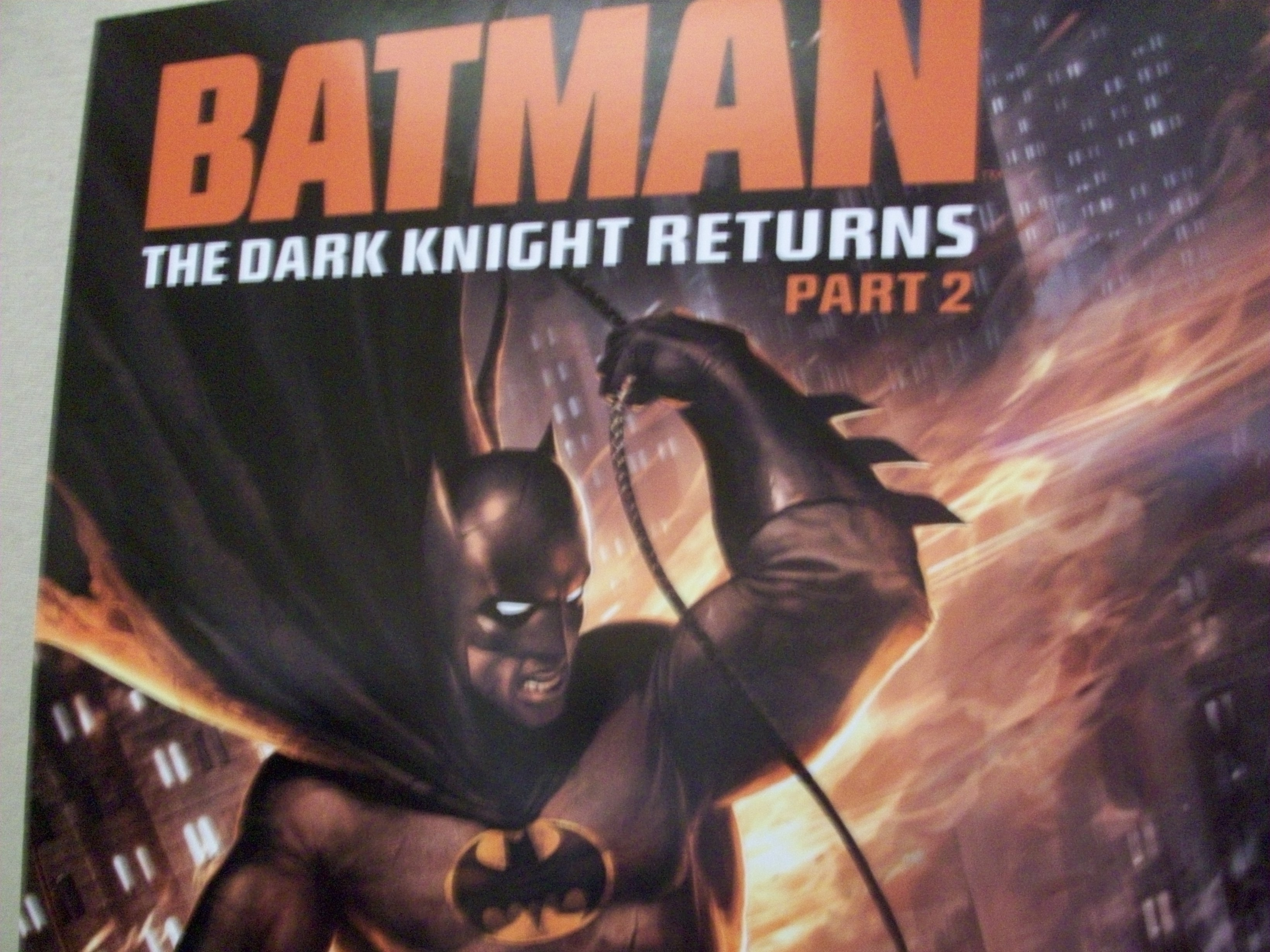 The Dark Knight Returns may be one of the most important Batman stories ever made, and it's finally finishing its animated adaptation with the release of The Dark Knight Returns:...