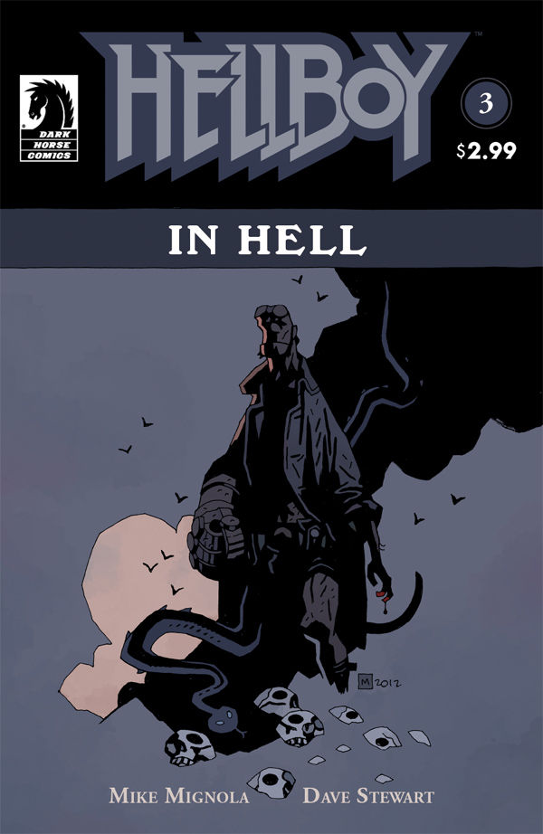 Hellboy in Hell #3 Publisher: Dark Horse Writer: Mike Mignola Artist: Mike Mignola Colors: Dave Stewart In this fantastic issue, Hellboy finally learns the fate of his father, Azzael. As...
