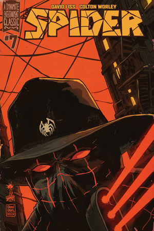 The Spider #7 Publisher: Dynamite Writer: David Liss Artist: Ivan Rodriguez (cover by Francesco Francavilla) Colors: Vinicius Andrade So, does the plot of a fat naked guy, running around the...