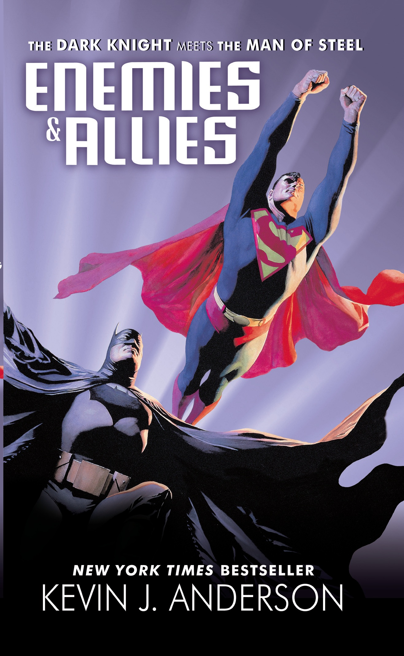 Title: Enemies & Allies Writer: Kevin J. Anderson Cover Artist: Alex Ross Publisher: It Books, imprint of Harper Collins With...