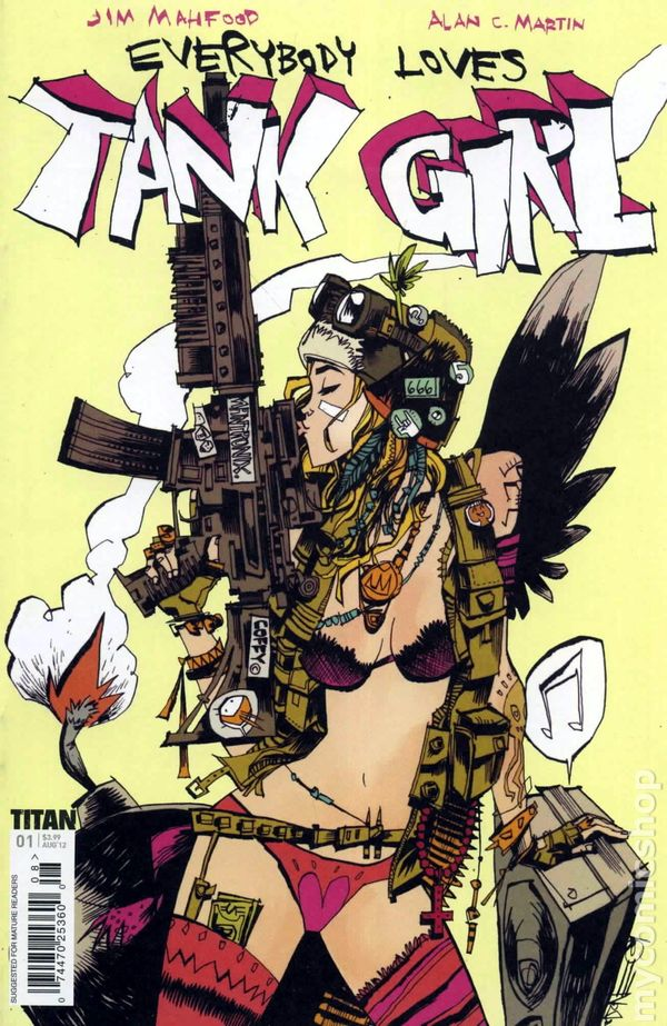 Everybody Loves Tank Girl Publisher: Titan Books Writer: Alan C. Martin Artist: Jim Mahfood I was introduced to Tank...