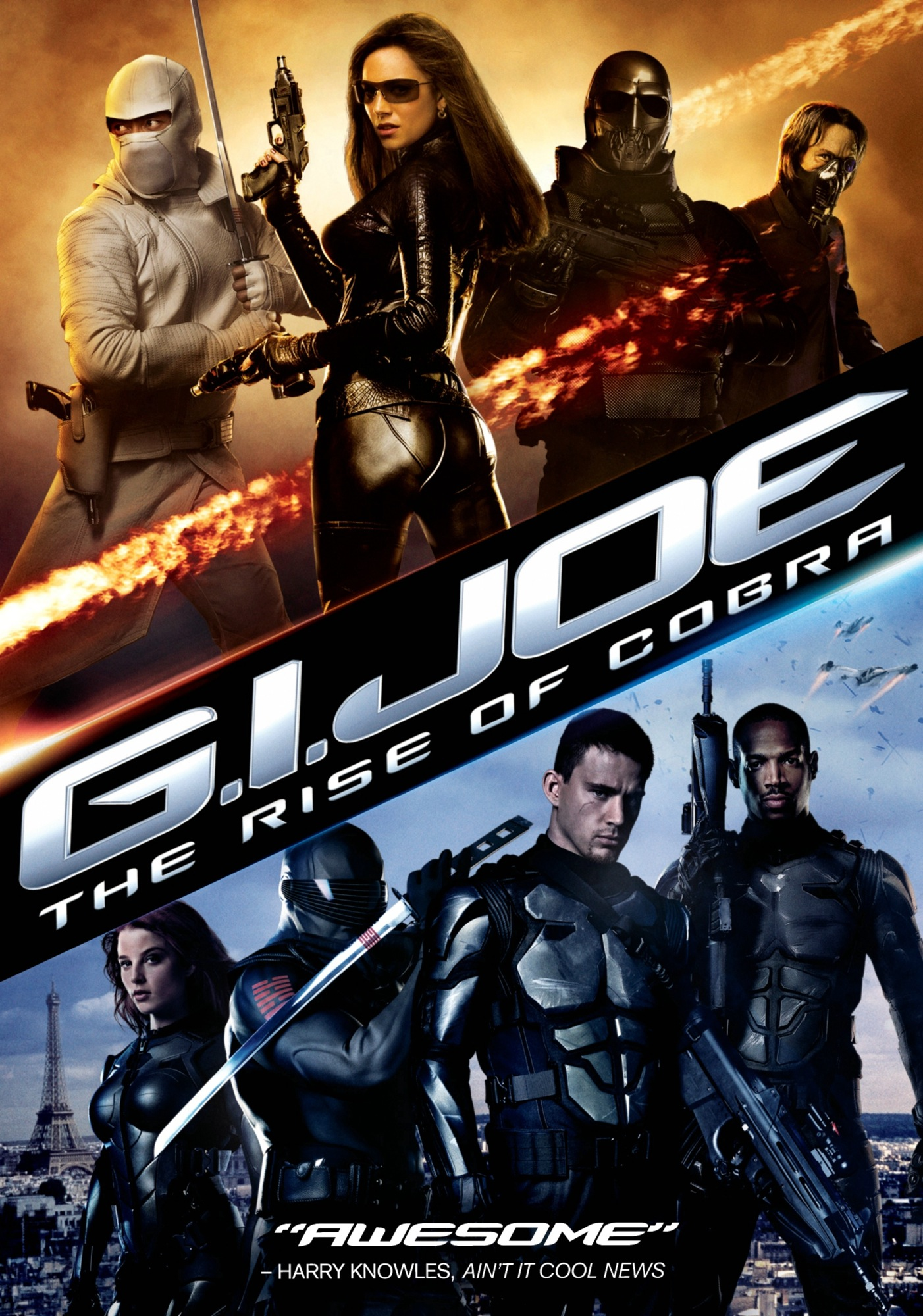 Title: G.I. Joe: The Rise of Cobra Director: Stephen Sommers Writers: Stuart Beattie, David Elliot, Paul Lovett Distributed By: Paramount Pictures Starring: Channing Tatum, Marlon Wayans, Sienna Miller, Christopher Eccleston,...