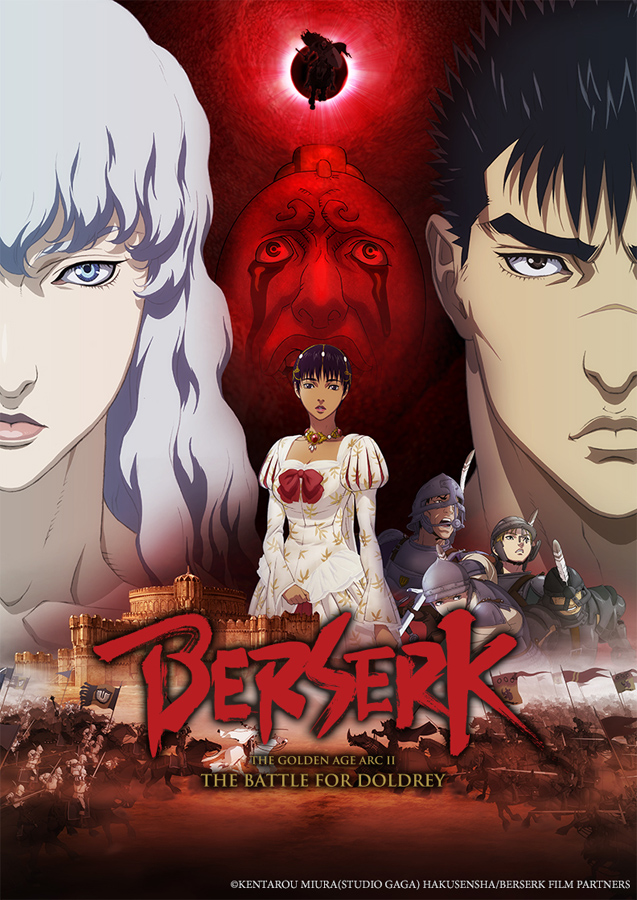 VIZ MEDIA BRINGS A DOUBLE DOSE OF MEDIEVAL ACTION WITH BERSERK: THE GOLDEN AGE ARC DOUBLE FEATURE EVENT ON...