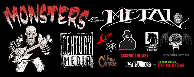 Welcome to Monsters & Metal Episode #1, the internet's hardest hitting, in your face mix of Horror Comics and Heavy...
