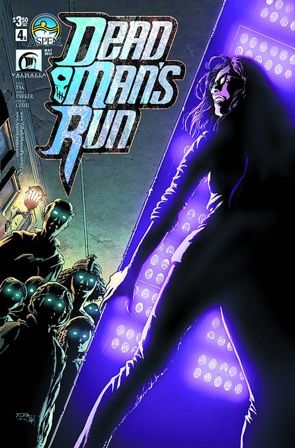 Dead Man's Run #4 Publisher: Aspen Writer: Greg Pak Artist: Tony Parker Colors: Wes Hartman At long last, Dead Man's...