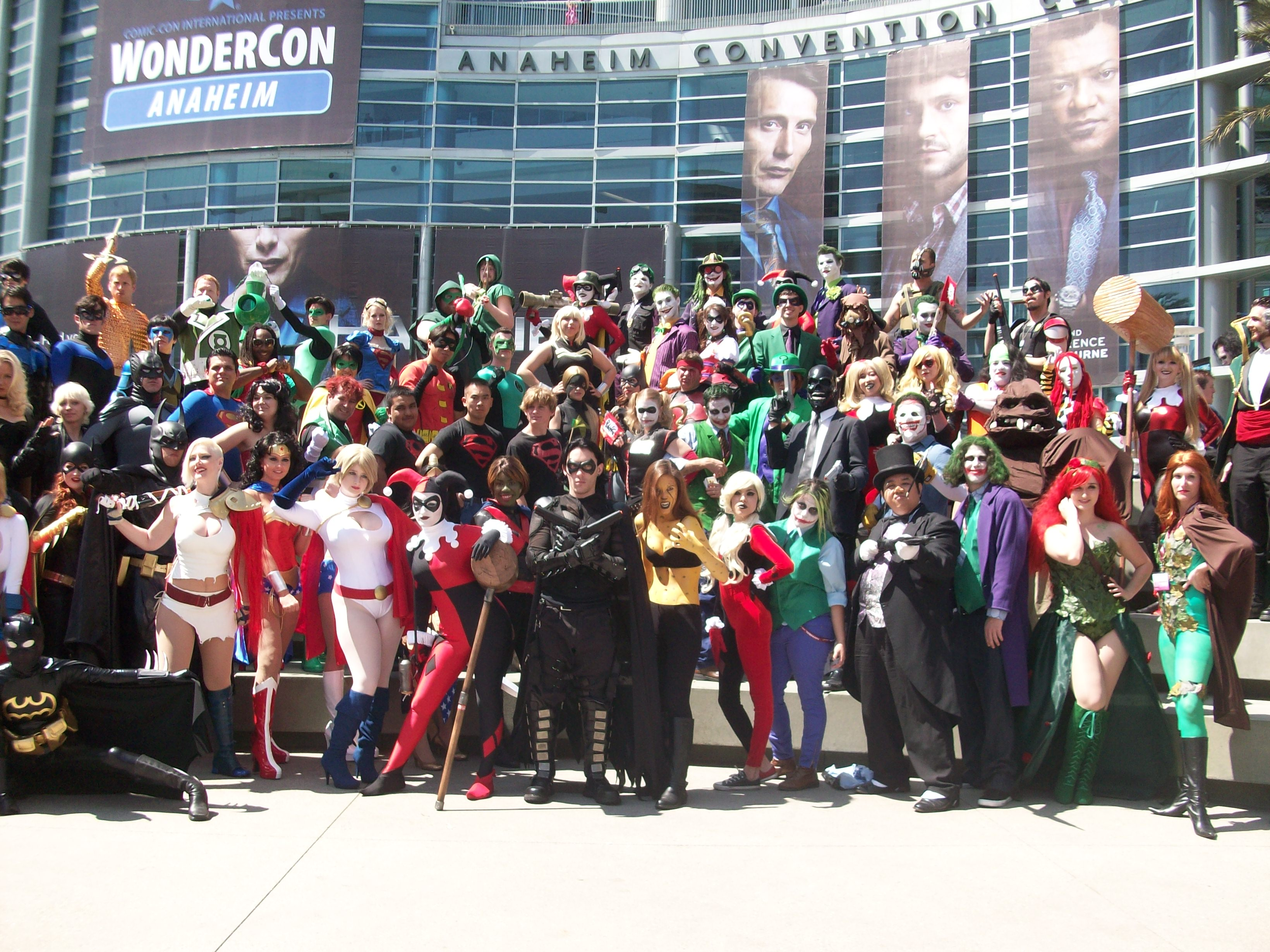 Welcome back for more photos from WonderCon Anaheim 2013. If you're wondering about the giant photo above, I was able...