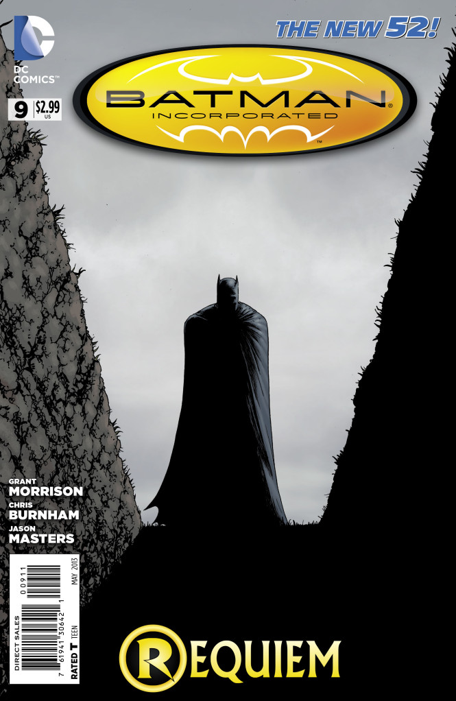 Batman Incorporated #9 Writer: Grant Morrison Artists: Chris Burnham, Jason Masters, and Nathan Fairbairn Cover Artists: Chris Burnham and Nathan Fairbairn Publisher: DC Last month's issue had consequences that echoed...
