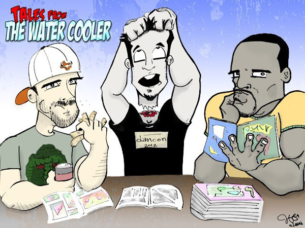 Welcome to Tales From the Water Cooler! Join Infinite Speech, Decapitated Dan, and the Canadian Webslinger each week as they gather around the water cooler of stories to talk about...
