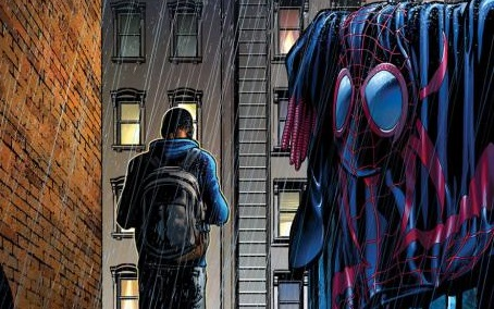 Ultimate Comics: Spider-Man #23 Publisher: Marvel Writer: Brian Michael Bendis Aritst: David Marquez Cover: David Marquez & Justin Ponsor His father severely hurt, his mother dead, and all because of his...