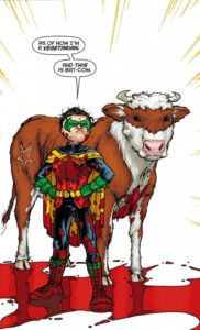 Damian has a habit of collecting pets.