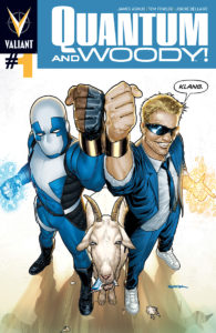 Quantum and Woody #1 cover