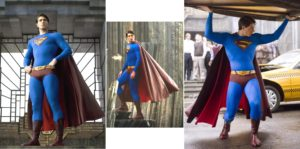 "Superman sporting the same color scheme as ""Evil Superman"" in Superman III.... WHY?!"